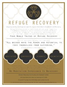 Refuge Recovery @ Onward Recovery