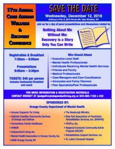 17th Annual Chris Ashman Wellness & Recovery Conference @ Anthony's Pier 9